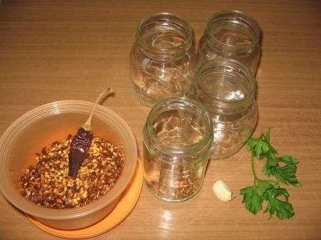 contenitori di vetro e aromi