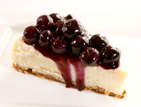Cheesecake mirtilli a freddo