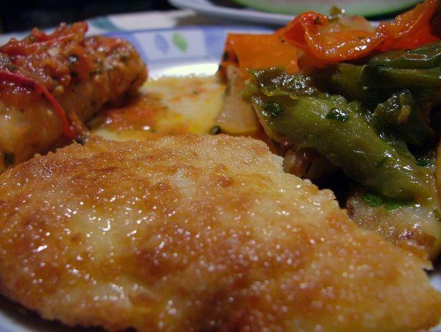 Cotoletta di pesce al forno