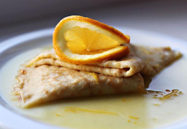 Crepes suzette alle clementine