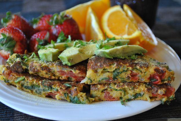 Frittata senza uova con zucchine