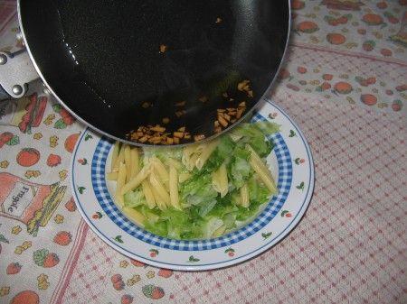 aglio fritto pasta