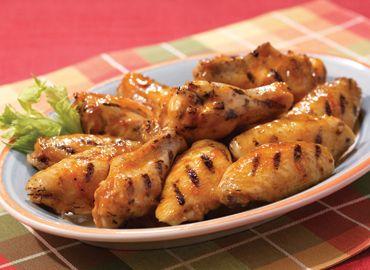 ali di pollo speziate alla brace