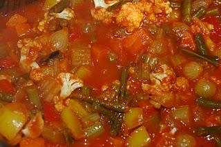 tipico antipasto piemontese di verdure