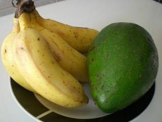 banana e avocado