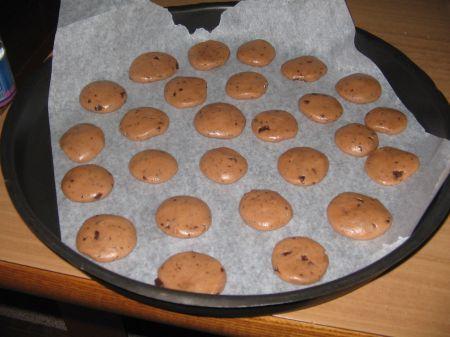 biscotti su teglia