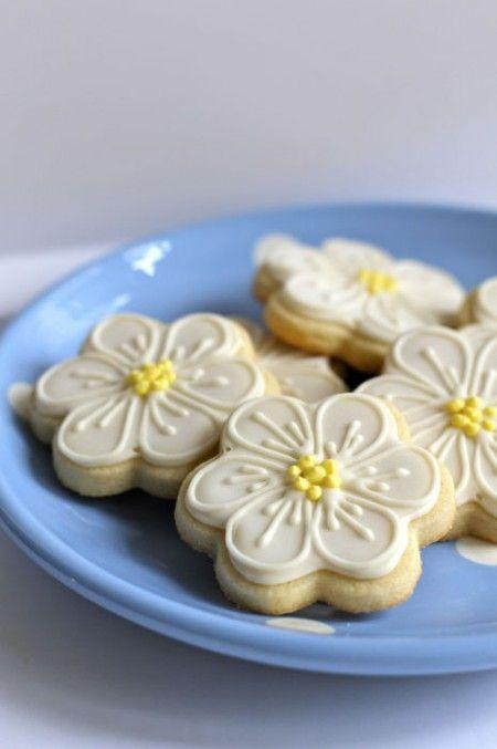 biscottini a fiore