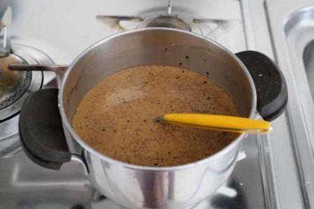 budino caffé cioccolato