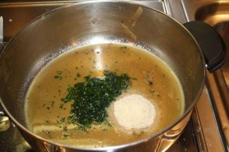 carciofi con la salsa