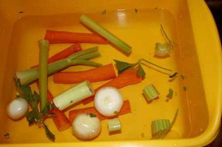 lavate le verdure