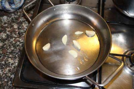 pelate l'aglio