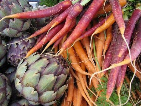 carote e carciofi
