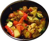 ciambrotta calabrese di verdure