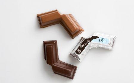 cioccolatino da dividere in due