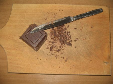 cioccolato a pezzi