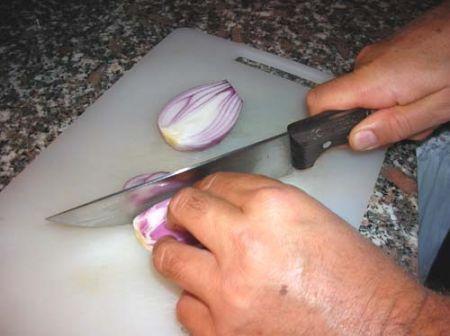 affettate le cipolle