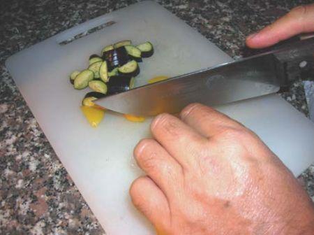 tagliate le verdure