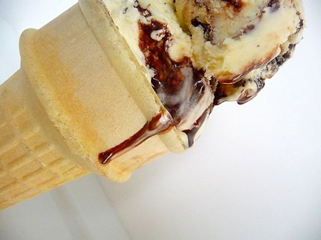 cono gelato pere