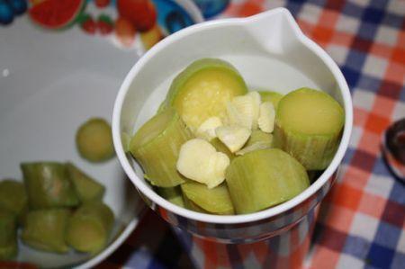 crema fredda di zucchine