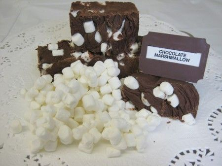 cubetti cioccolato e marshmallows