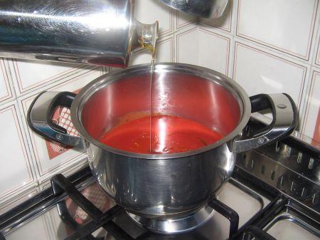 cuocere salsa