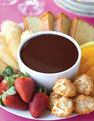 fonduta fredda al cioccolato