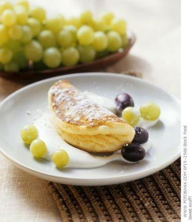 frittata con uva