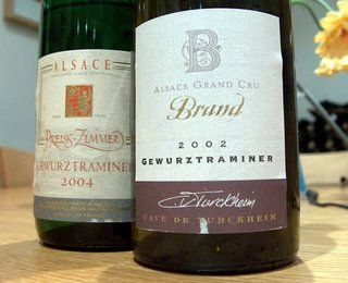 gelatina di vino Gewurztraminer