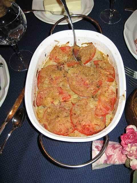 gratin patate pomodori ricette dietetiche
