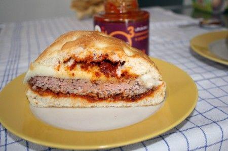hamburger peperoncino peperoni provolone 01