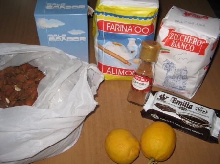 ingredienti biscotti festa del papà