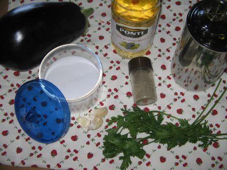 ingredienti per melanzane baresi