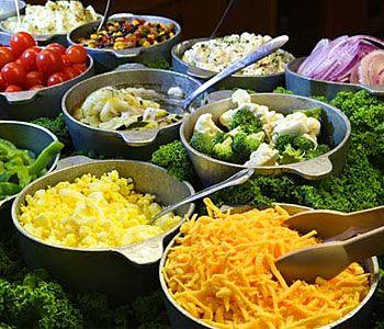 ingredienti oer insalata multicolore