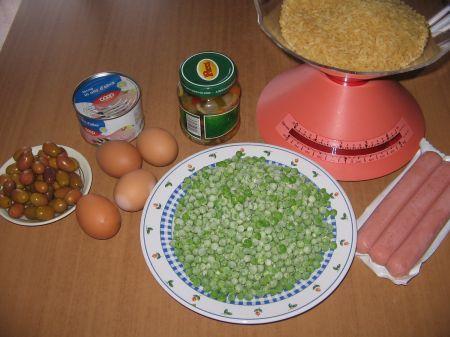 ingredienti insalata riso multicolore