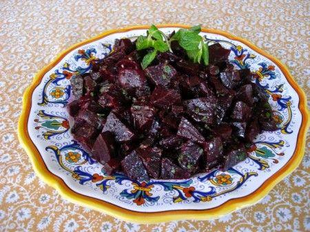 insalata barbabietole al forno marocchina