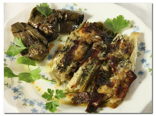 insalata belga con gorgonzola e speck