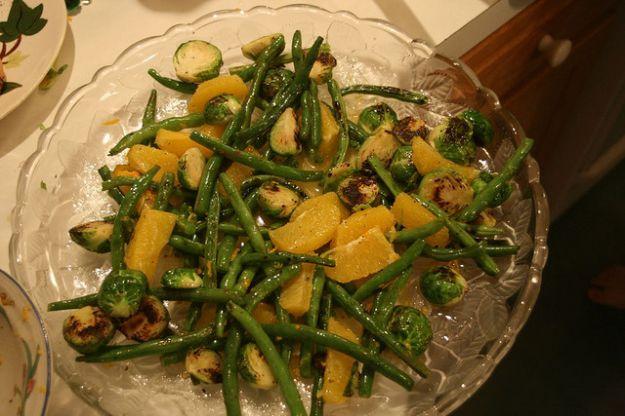 insalata cavoletti fagiolini