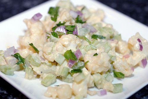 insalata cavolfiori maionese finta