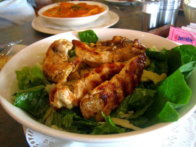 insalata di pollo e indivia