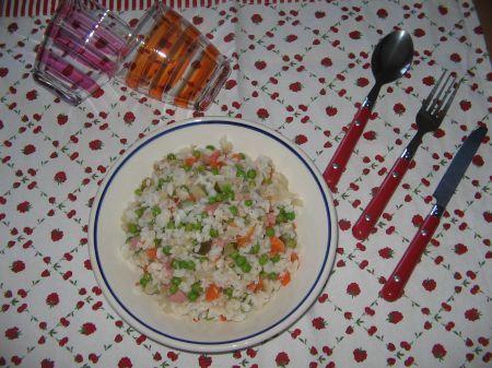 insalata riso multicolore