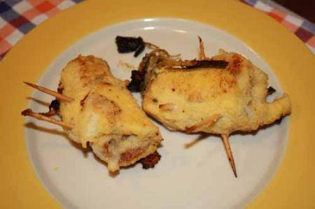 involtini di pollo con prosciutto crudo e mozzarella