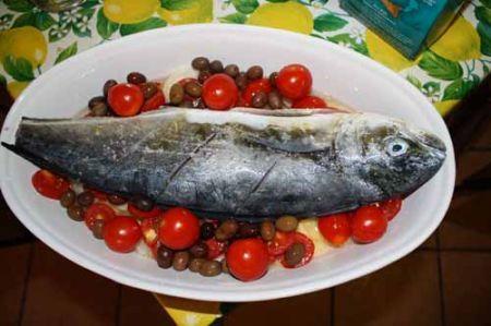 pesce al forno