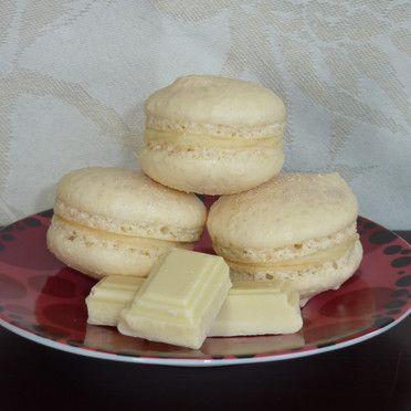 macarons cioccolato bianco