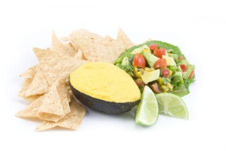 nachos all'avocado
