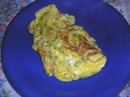 omelette al dragoncello