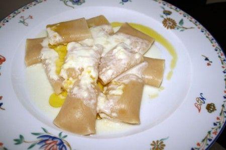 paccheri kamut fonduta pecorino 01