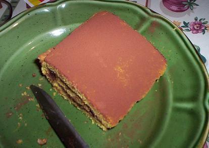 pan biscotto con cacao amaro