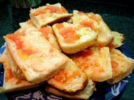 introduzione pane col pomodoro