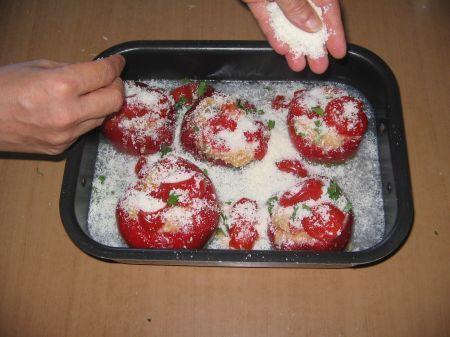 parmigiano sui peperoni