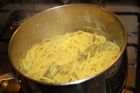 pasta carciofi asparagi 01